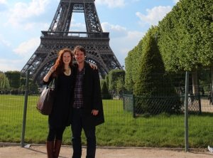 A trip to Paris isn't complete without this shot!